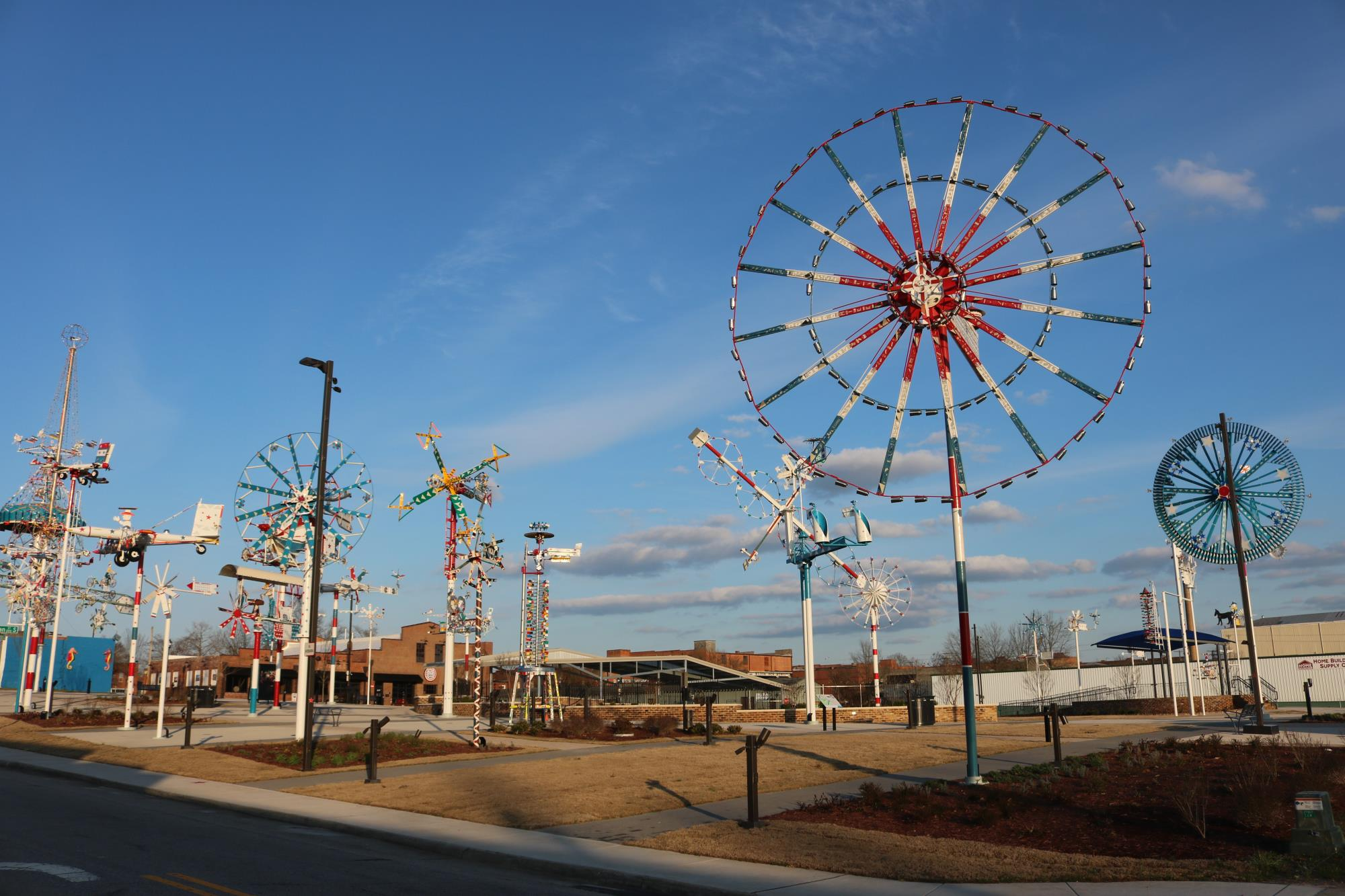 "Vollis Simpson Whirligig Park Named ""People's Choice"""