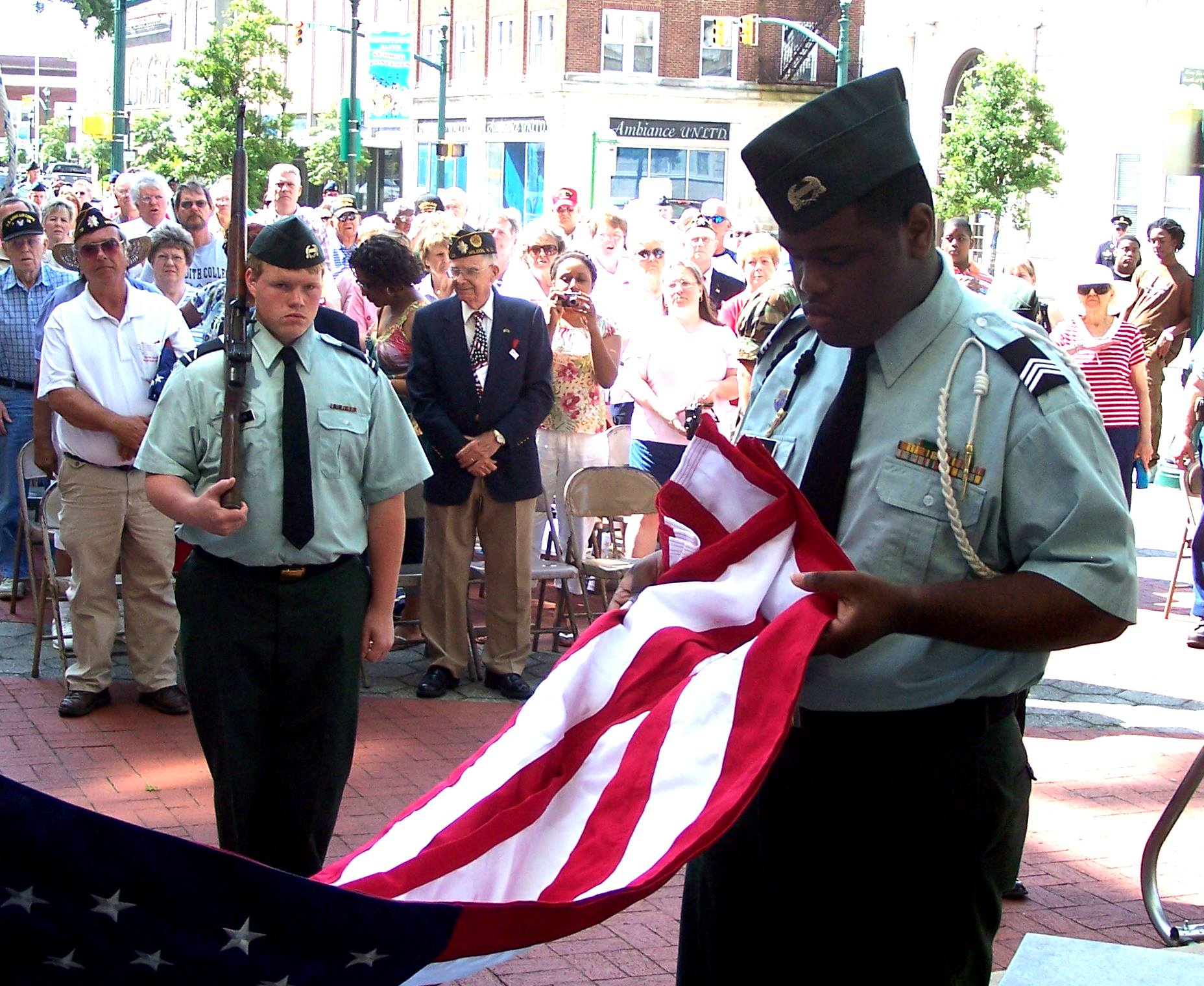 City remembers veterans' sacrifice on Memorial Day