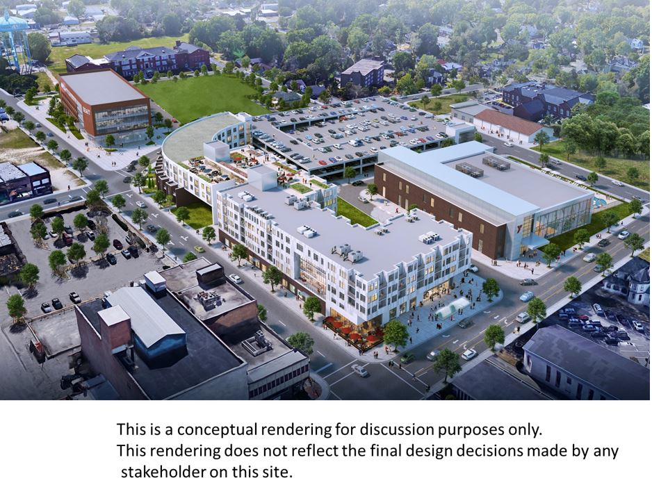 City, Developer enter agreement for massive Pine-Nash Street District plan