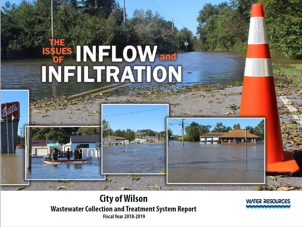 Wastewater Report cover 18-19