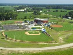J Burt Gillette Athletic Complex Aerial View